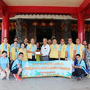 澳門中華媽祖基金會拜訪台東宮廟並改行程