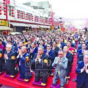 媽祖文化旅遊節十月底舉行