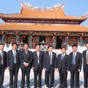 晉江市委拜訪天后宮