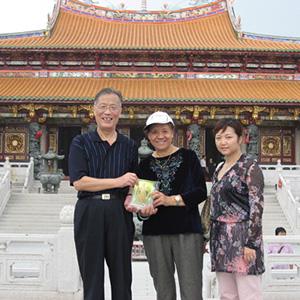 退休中組部秘書長蔣振雲訪天后宮