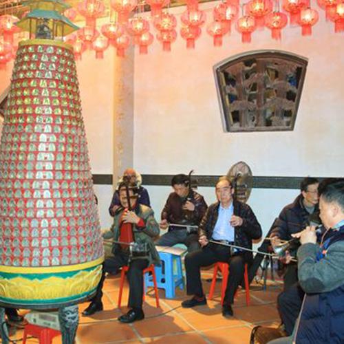 二零一六年農曆十二月廿九上頭香儀式