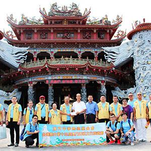 澳門中華媽祖基金會拜訪台中花蓮三宮廟