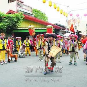 台逾廿宮廟參與媽祖文化節