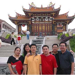 福建省副省長黃美香女兒到訪天后宮