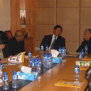 國家宗教事務局局長葉小文到訪本會